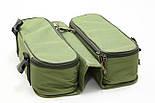 Сумка для хранения и транспортировки бойлов, с 20-ма банками в комплекте, 2 отделения, водонепроницаемая, фото 4