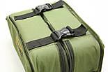 Сумка для хранения и транспортировки бойлов, с 20-ма банками в комплекте, 2 отделения, водонепроницаемая, фото 6