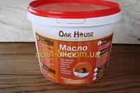 Масло-воск  для обработки и защиты древесины в цвете 1 л