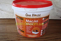 Масло-воск  для обработки и защиты древесины в цвете 5 л