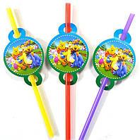 """Детские соломинки для напитков """"Винни"""" 5693"""