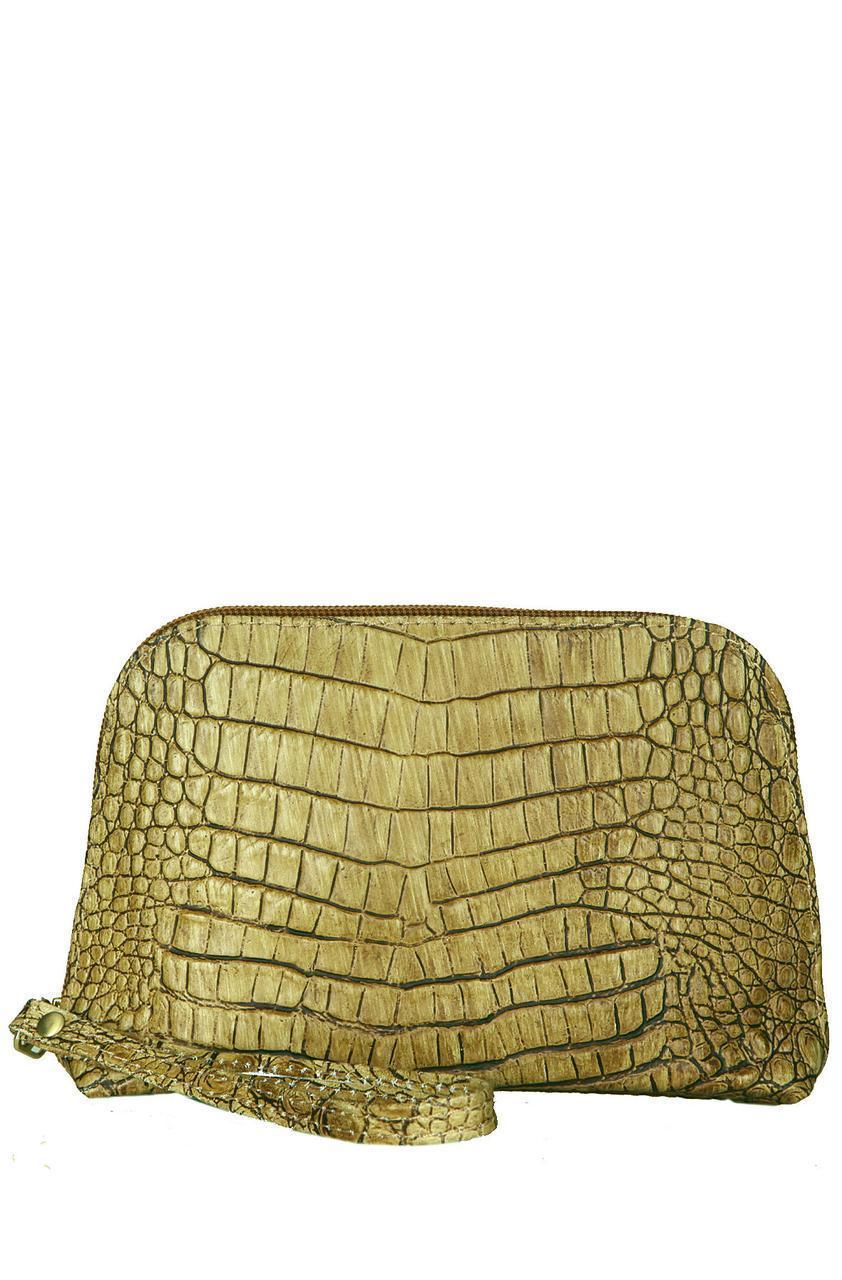 Жіноча шкіряна сумочка 10315 Made in Italy колір анімалістичний принт