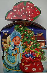 Новогодние коробки для конфет (700грам) 005