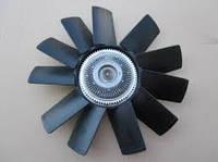 Вентилятор системы охлаждения (крыльчатка) Газель NEXT дв.Cummins 2.8 с вязкостной муфтой в сб. 11 лоп. (пр-во