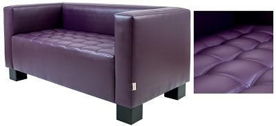 Диван двухместный Спейс фиолетовый - картинка
