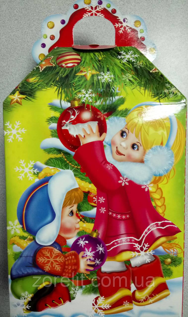 Новогодние коробки для конфет (700грам) 014