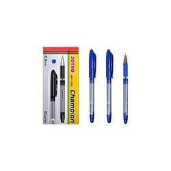 Ручка шариковая, синяя, 0,5мм, Joyko, 165син