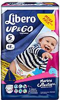 Подгузники-трусики Libero Up&Go Maxi Plus 5 (10-14 кг) 48 шт либеро ап енд гоу морская коллекция