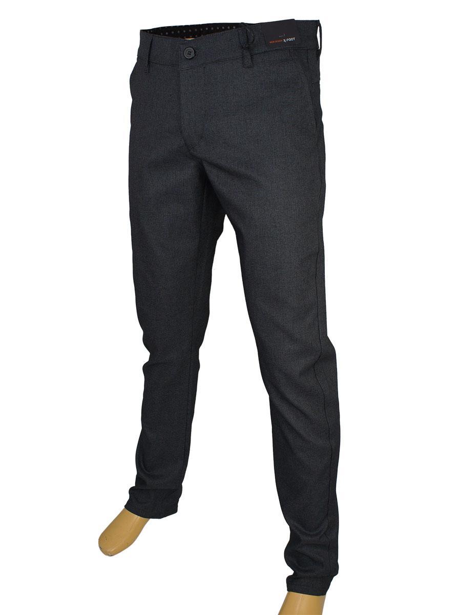 Стильні чоловічі джинси X-Foot 170-3352 (5025) C: 6 сірого кольору