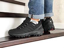 Зимние мужские кроссовки Merrell,нубук,черные, фото 3