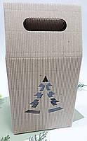 Коробка с елкой 160х200х80 мм. (общая высота 300 мм.), фото 1