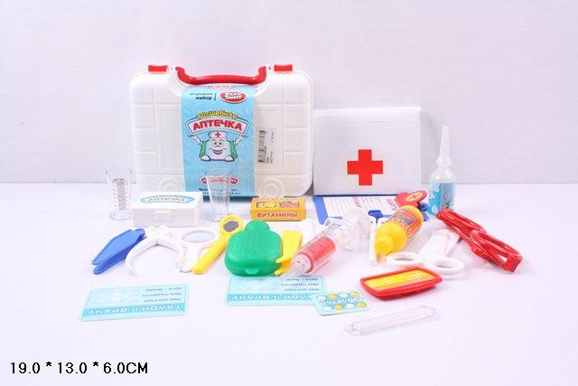 Набор доктора детский чемодан, 21 см, M 0459 U/R