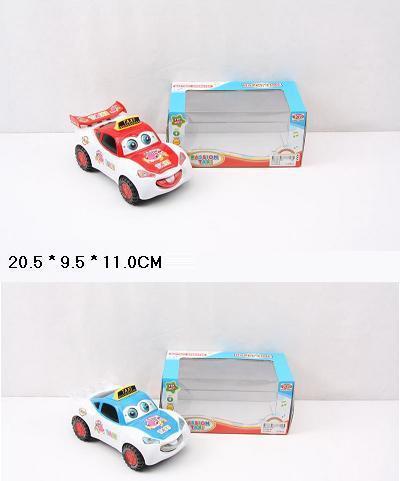 "Игрушечная машина музыкальная. ""Taxi"" на батарейках, 2 вида, KY2092-6"