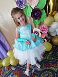 Пышные детские платья Бетти  на 4-5, 6-7 лет, фото 4