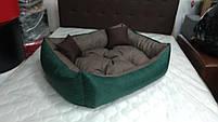Диван лежанка Premium для больших собак всех  100 х 80 см.Лежанка,Лежаки,лежак,лежак для кошки,лежак, фото 2