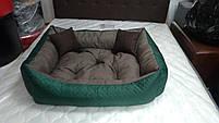 Диван лежанка Premium для больших собак всех  100 х 80 см.Лежанка,Лежаки,лежак,лежак для кошки,лежак, фото 7