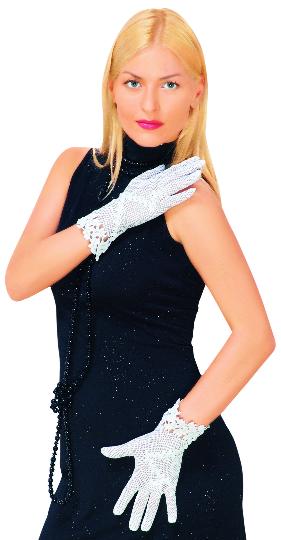 Ажурні рукавички