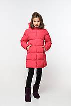 Детское зимнее пальто на девочку Микель 2, фото 2