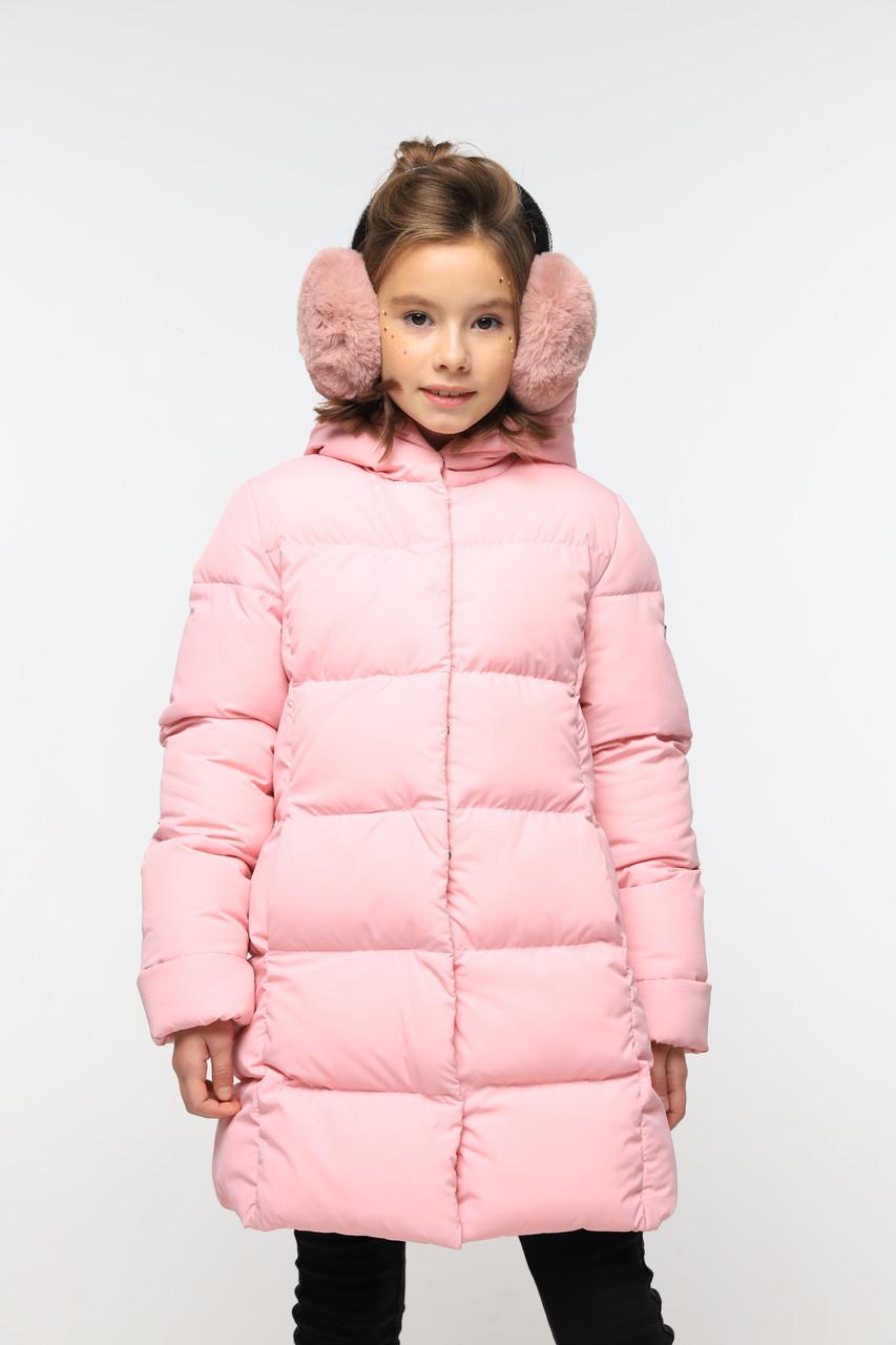 Детское зимнее пальто на девочку Микель 2