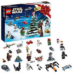 Конструктор LEGO Star Wars Новорічний календар 280 деталей (Новогодний адвент календарь Лего 75245 )