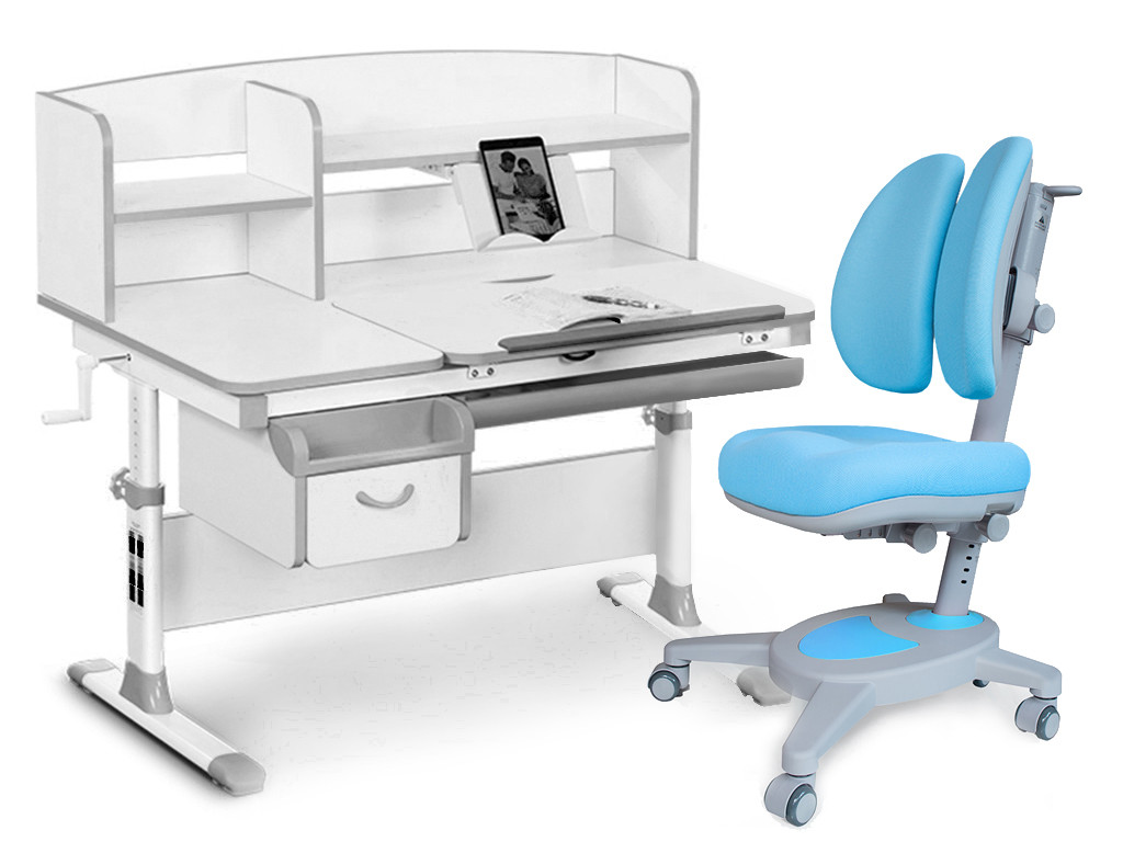 Комплект парта Evo-kids Evo-50 G + кресло Y-115 KBL