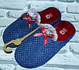 Тапочки домашние женские молодежные размер 36-41 купить оптом со склада 7км Одесса, фото 3