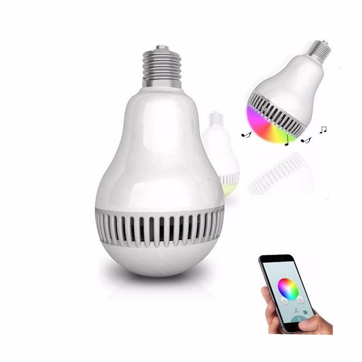 Лампа смарт с Bluetooth динамиком. Музыкальная смарт лампа
