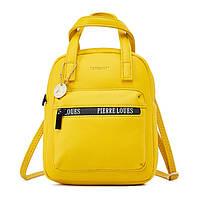 Женская сумочка через плечо Pierre Loues PL931-11 из экокожи, с влагозащищенными молниями, 5л