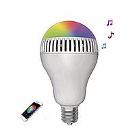 Умная лампа с Bluetooth динамиком! Смарт лампочка ЛЭД свет, музыка, световые эффекты