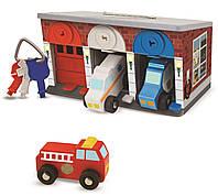 Гараж спасательных машин с ключами Melissa & Doug (MD4607)