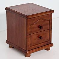 """Тумбочка прикроватная деревянная """"Стандарт""""1.2 (цвет: орех лесной), фото 1"""