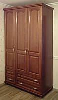 """Шкаф деревянный для одежды """"Трио-5"""" sh3.5"""