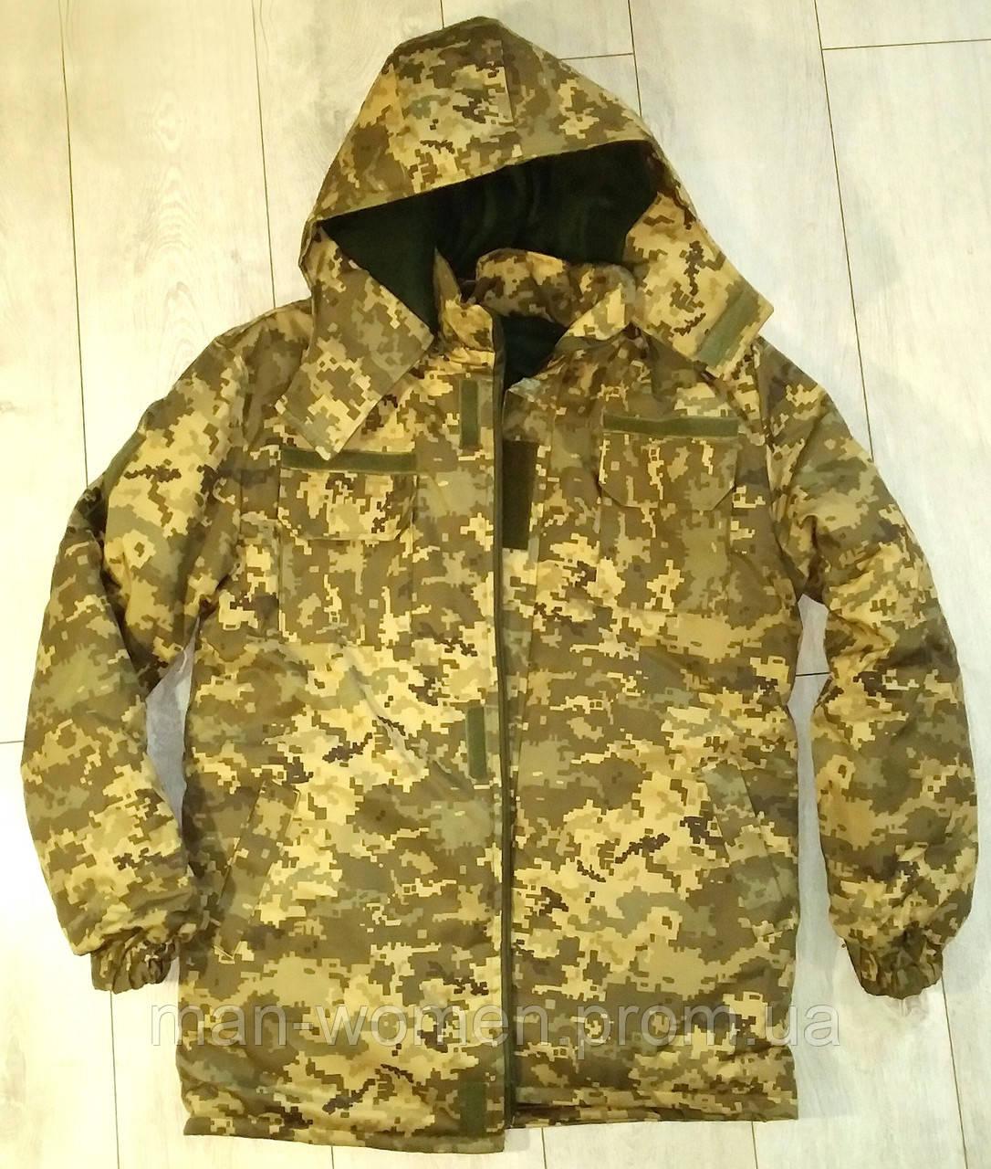 БУШЛАТ! Куртка камуфлированная. Утеплённая. ВСУ. Цифра МО 2014. Украина