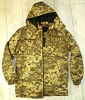 БУШЛАТ! Куртка камуфлированная. Утеплённая. ВСУ. Цифра МО 2014. Украина, фото 1