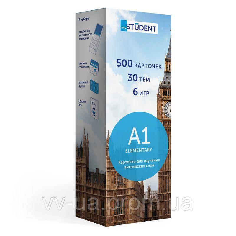 Карточки English Student для изучения английского языка Elementary A1, русский, 59122560