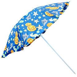 Зонт пляжный d2.2мсеребро MH-1096