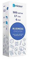 Карточки English Student для изучения бизнес английского языка, украинский, 41315776, фото 1