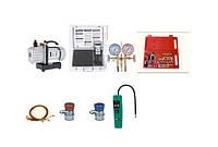Течеискатели, вакуумные насосы, коллекторы, весы, трубогибы, труборезы, труборасширители