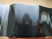 Пленка под карбон самоклейка 5D с микроканалами 10 см х 150 см