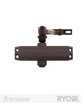 Дверной накладной доводчик RYOBI 9900 9903 DARK BRONZE STD ARM EN_ 2/3 до 65 кг 965 мм