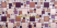 ПВХ панель Регул Модерн амарантовый - МА 2 ПВХ панель Модерн амарантовый - МА2, фото 1