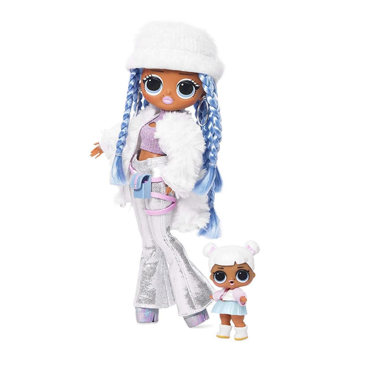 Кукла ЛОЛ Snowlicious Снежный ангел  ОМГ Зимнее диско и сестра L.O.L.Surprise! O.M.G. Winter Disco