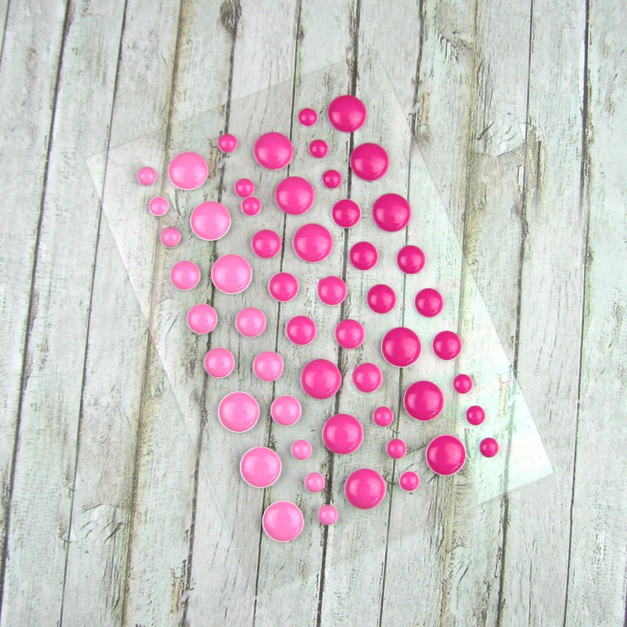 Дотсы для рукоделия розовые 1 планшетка