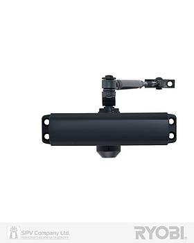 Накладной доводчик дверной RYOBI 9900 9903 антрацит серый STD ARM EN 2/3 до 65 кг 965 мм