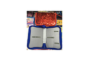Пенал-книжка с пайетками (без наполнение) на 1 отделение(1 змейка) .