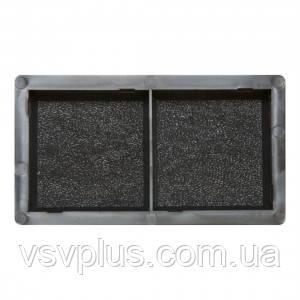 Формы для тротуарной плитки Антик №2 шагрень 100х100х45 мм Вереск 1 шт, фото 2