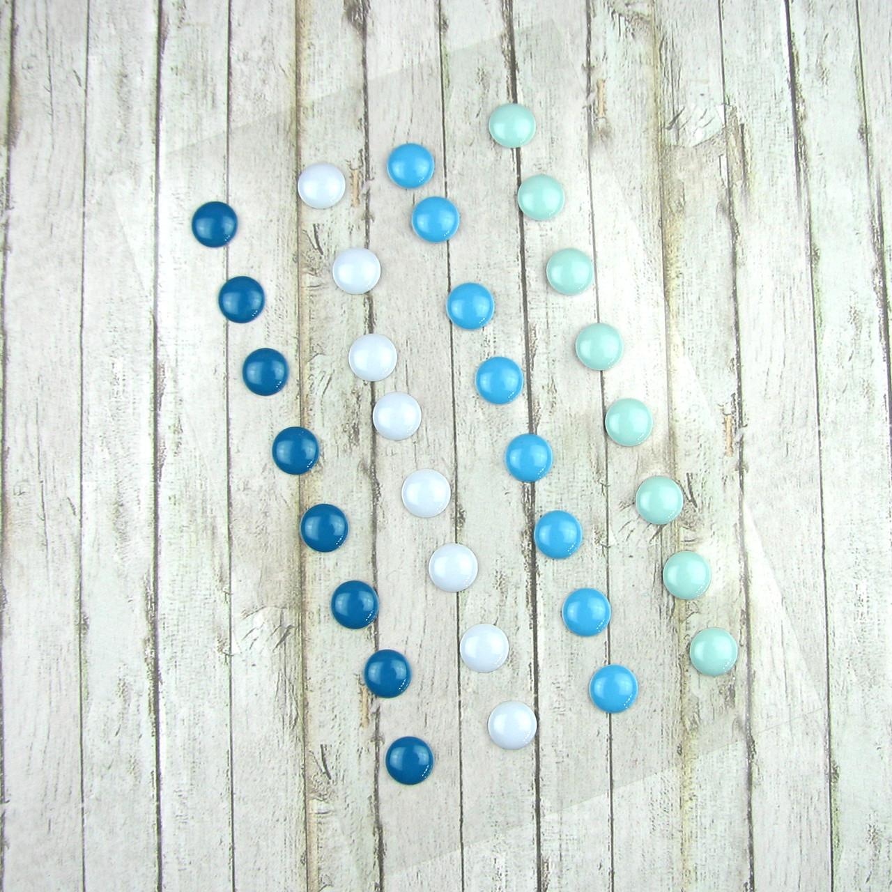 Дотсы для рукоделия голубой1 планшетка