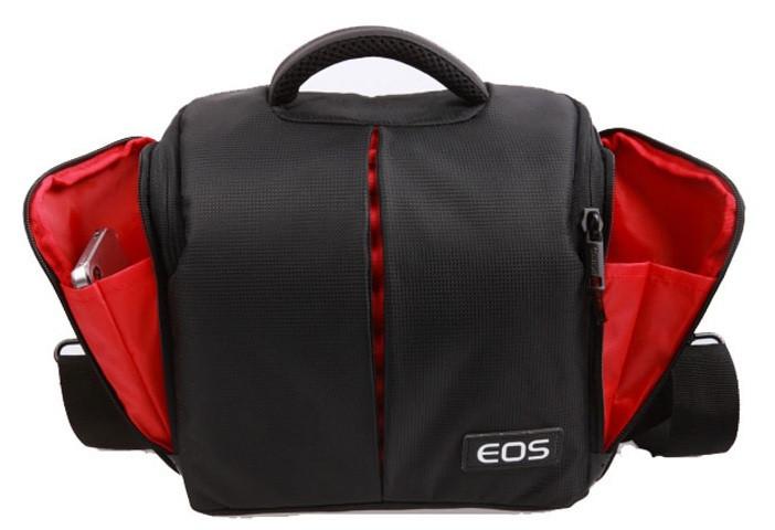 Фото сумка Canon EOS, противоударный чехол Кэнон + дождевик ( код: IBF002B )
