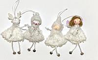 Новогодние игрушки Эльфы украшение декор
