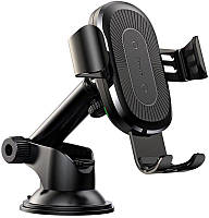 Автодержатель Baseus Wireless Charger Gravity Car Mount Black?osculum type) Black